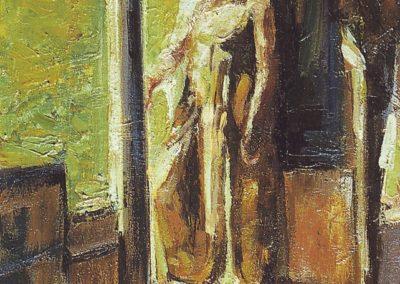 óleo sobre lienzo 46x 33 cm