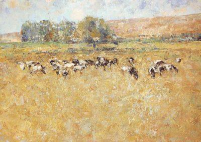 óleo sobre lienzo 195x110 cm