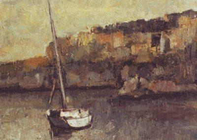 óleo sobre lienzo 55x46 cm